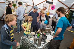 Markt der Zukunft am eco.festival 2016