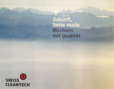 Zukunft Swiss made: Wachsen mit Qualität