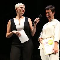 Rebecca Clopath, prix eco.ch Hoffnungsträgerin 2016 und Susanne Kunz